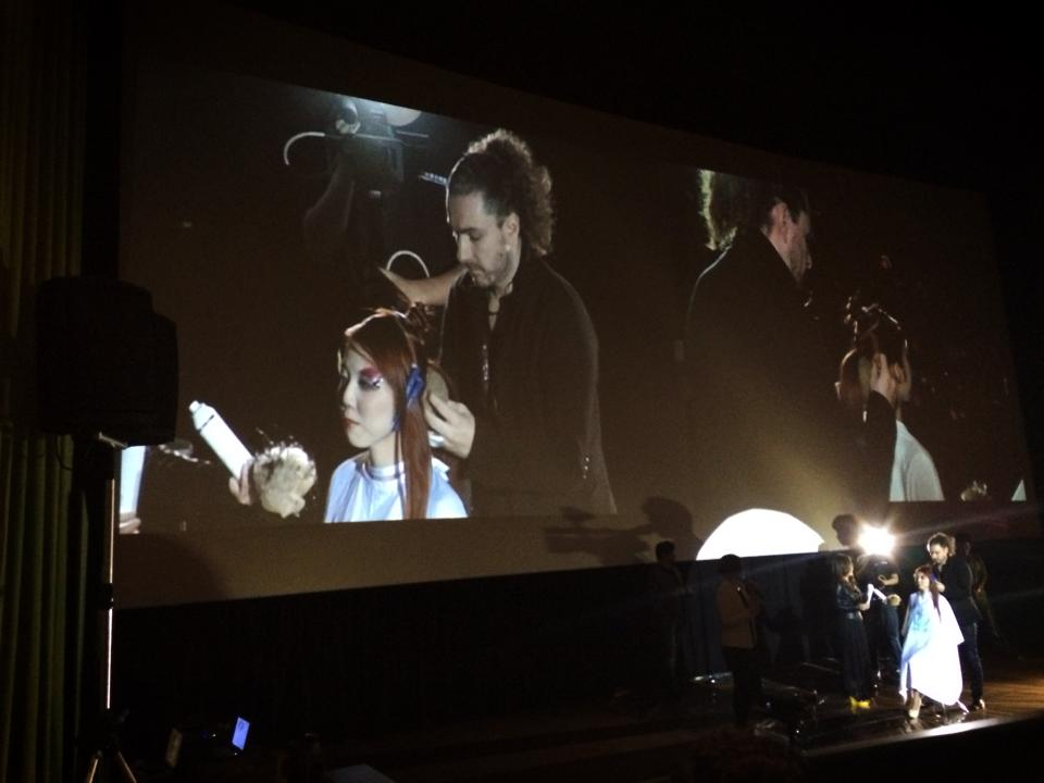影片拍攝/燈光音響/現場轉播/Raphael perrier 髮型世界巡演台灣場