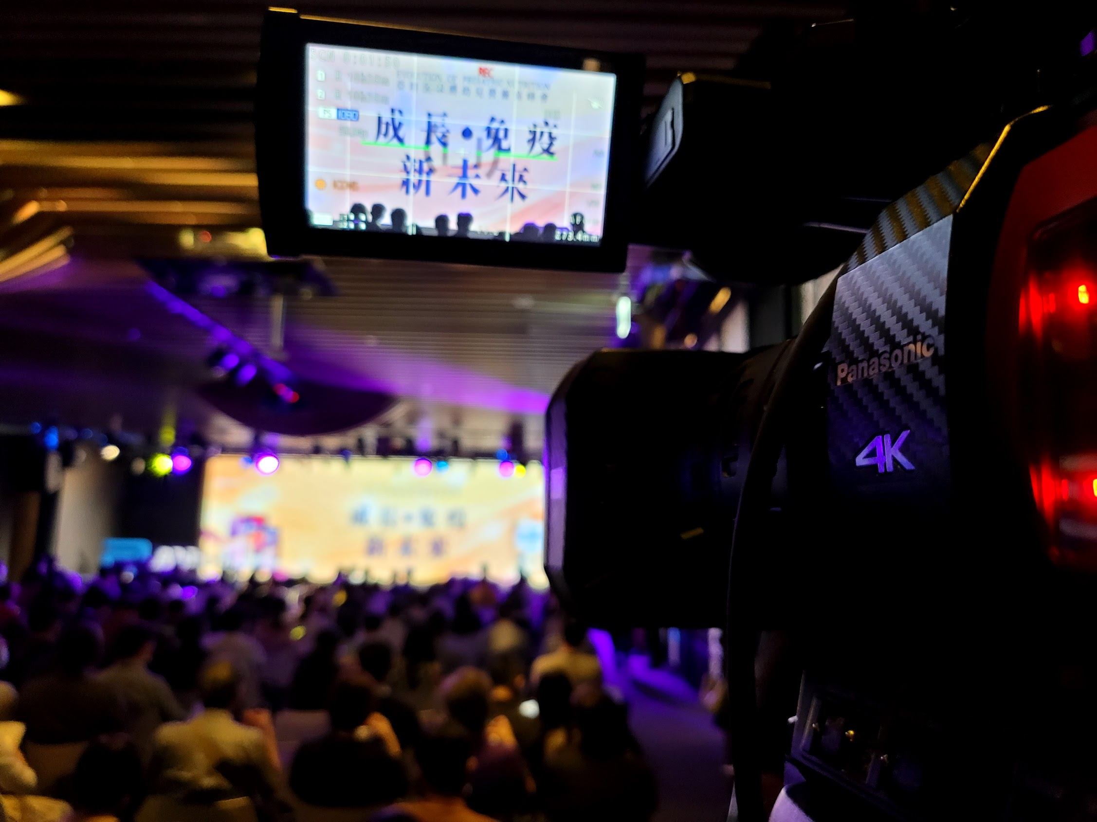 4K攝影機拍攝